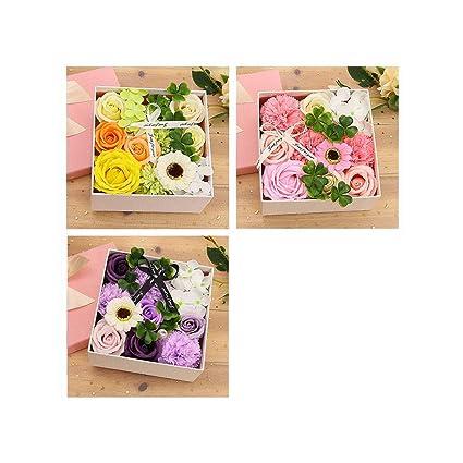 Doubled Rose Fiori Da Bagno Petali Di Sapone Fiori Set