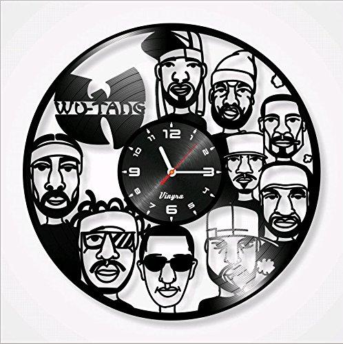 WU-tang Clan discos de vinilo reloj la RZA el Genius/gza método Man Raekwon Masta Killa inspectah Cubierta Ghostface Killah U-God OL dirty Bastard ...