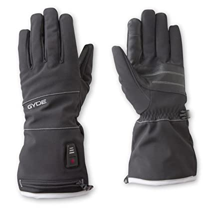 Gyde Heated 7.4V Featherweight Womens Gloves Large Black