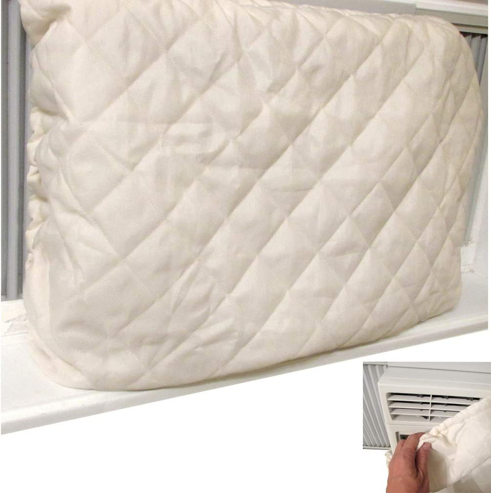 Evelots Indoor Air Conditioner Cover-Window A/C-New Strong Elastic-No Heat Loss