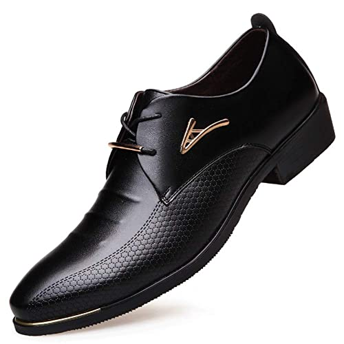 Zapatos de Vestir para Hombres Zapatos de Boda de Negocios ...