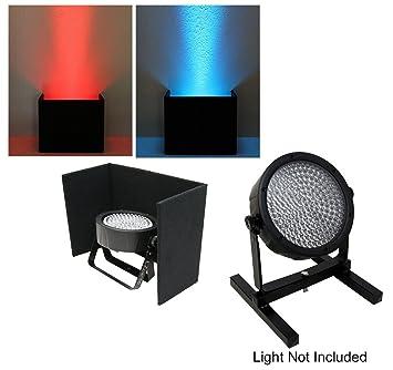 stand up lighting. dj wedding venue lighting slimpar 38 56 64 led up light black cover with uplighting stand