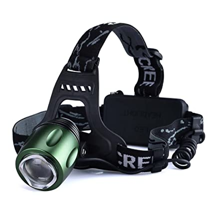 ce5e4cd27d1 Canwelum Rechargeable LED Head Torch