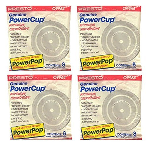 16 Presto Genuine PowerCup Power Cup Microwave POPCORN Popper Concentrator-09964