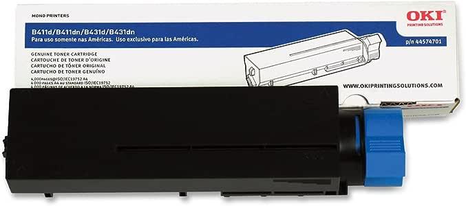 Amazon.com: Okidata 44574701 cartucho de tóner para ...