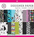 "ColorBok 68231B Designer Paper Bright Ideas, 12"" X 12"""