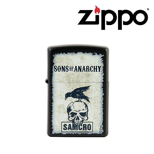 Zippo - Mechero de Sons of Anarchy: Amazon.es: Jardín