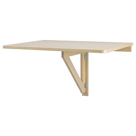 Amazon.com: IKEA NORBO mesa sólida para montar en ...