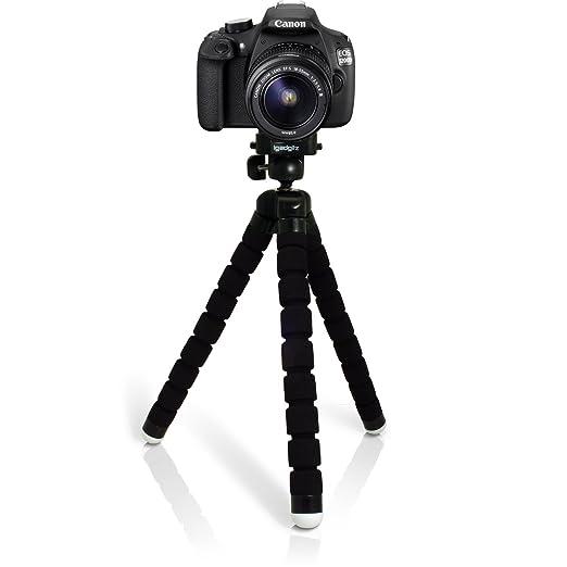 41 opinioni per igadgitz Leggero Large Flessibile Gommapiuma Mini Treppiede per Canon EOS SLR