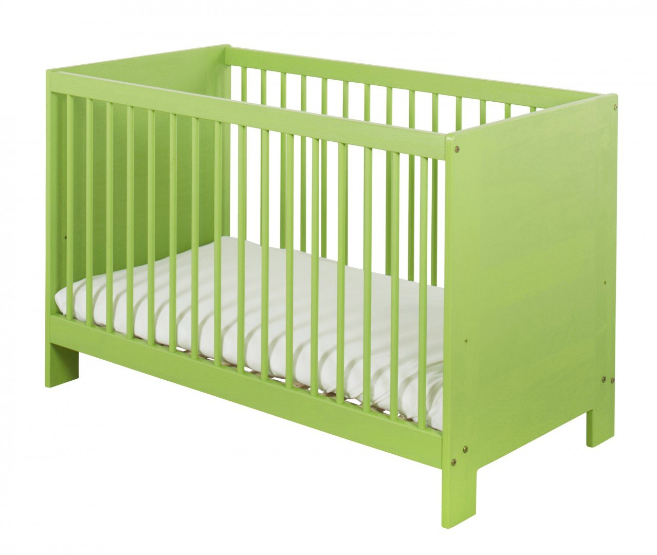 BioKinder 24004 Niklas Babybett 60x120 cm Kiefer grün lasiert