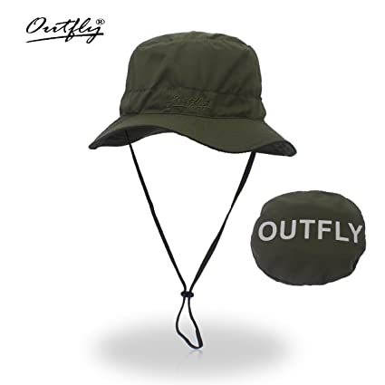 Bucket Hat Men s Wide Brim Sun Hat Outdoor Sun Protection Boonie Hat  Foldable Breathable Hunting Hat c5bce2ae856