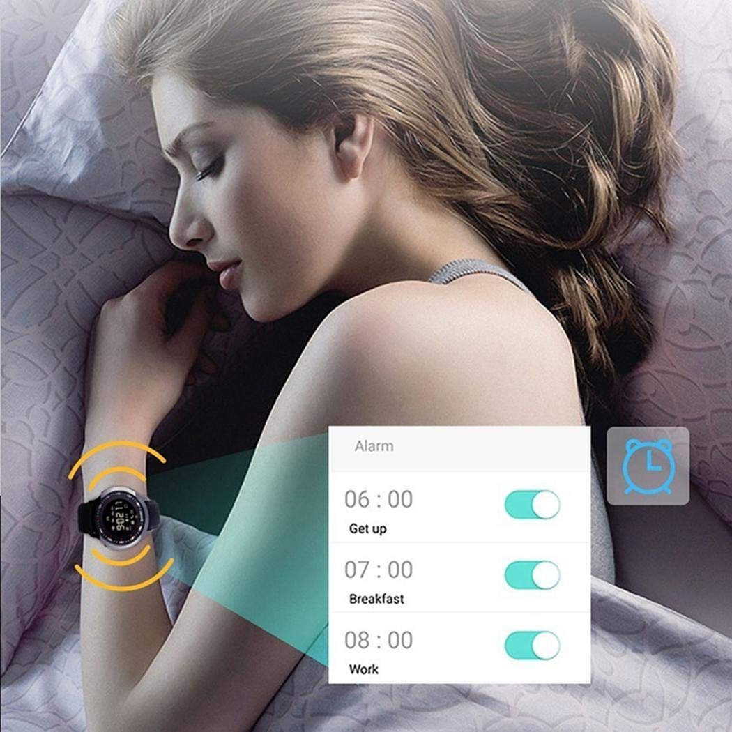 Iuyem Robuste, Flexible, einstellbare wasserdichte Unisex-Uhr Smartwatches