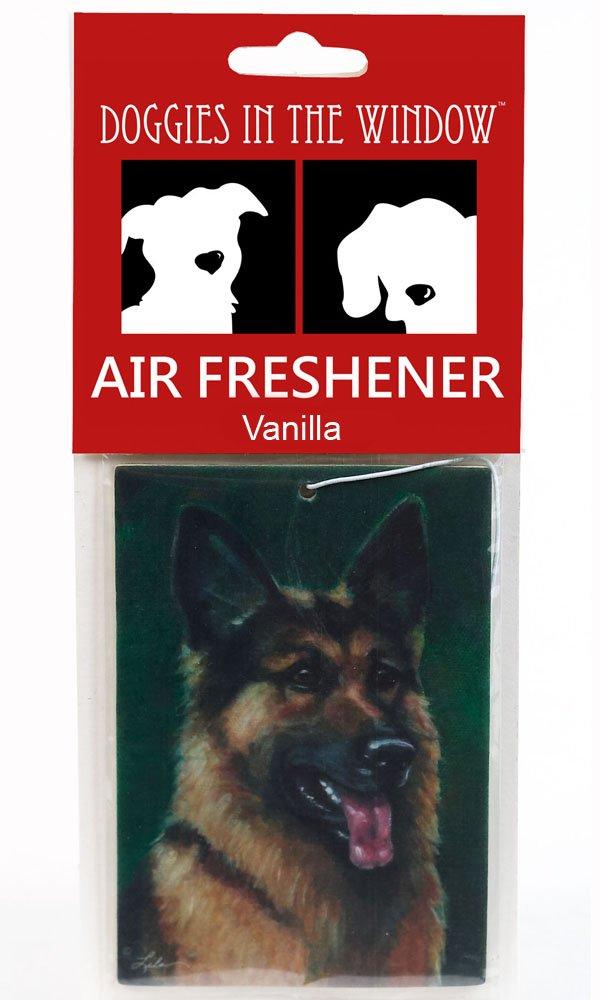 Doggies in the Window German Shepherd Air Freshener, Vanilla