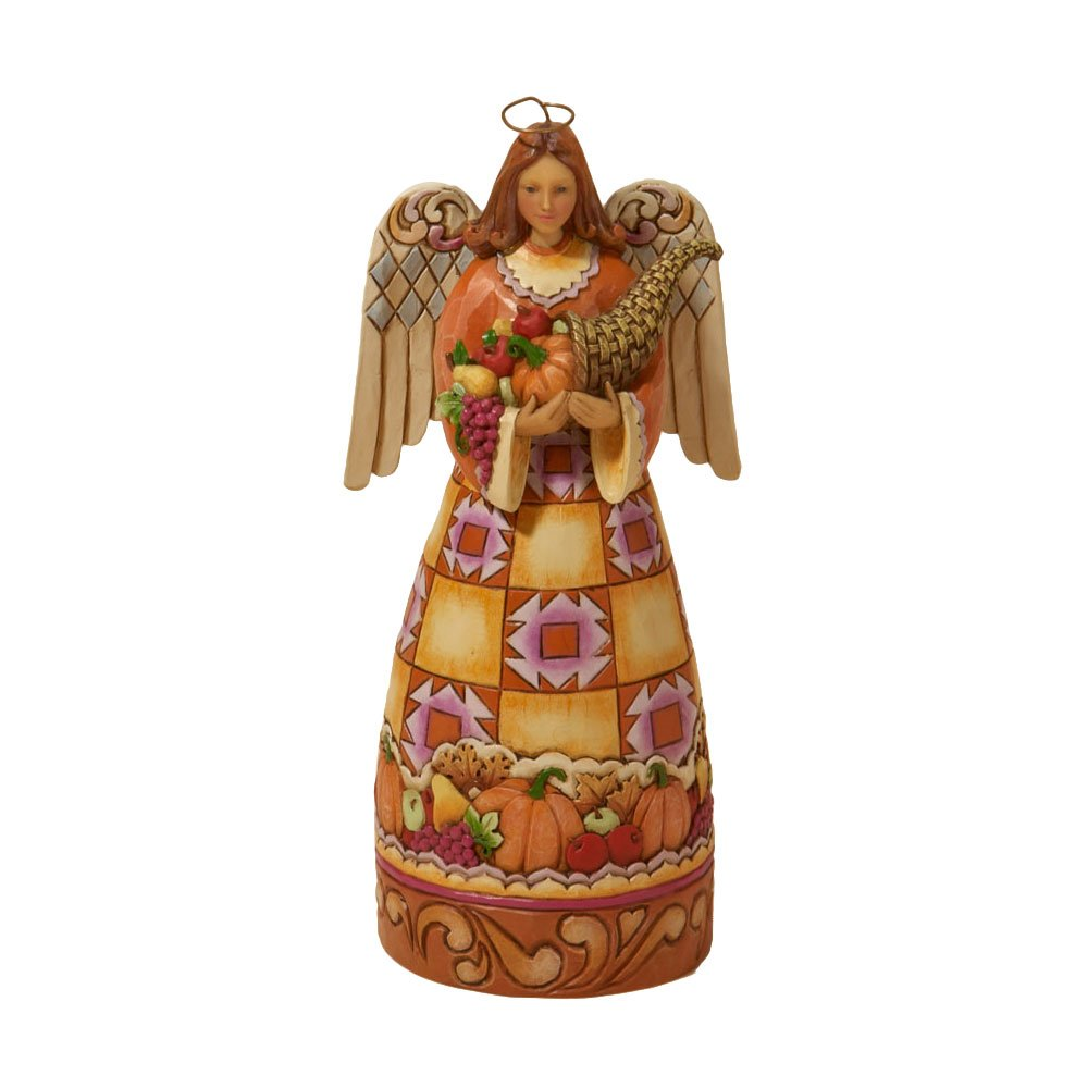 Jim Shore Heartwood Creek from Enesco Small Harvest Angel Figurine 6.75 IN