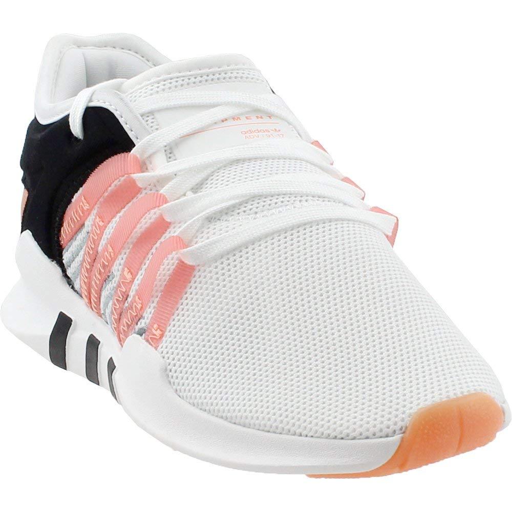 half off 11c60 7ffed adidas Womens EQT RACING ADV W Cloud White/Chalk Coral/Core Black - CQ2156  (6.5 B(M) US)