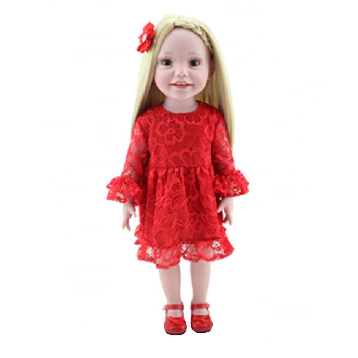 Barato Niña Simulación Niños Juguetes Renacer Body Silicone Vinyl Doll Bebé 18 Pulgadas Full Alive Baby Real Vinyl Belly Kids Toy Niños Regalo De Cumpleaños