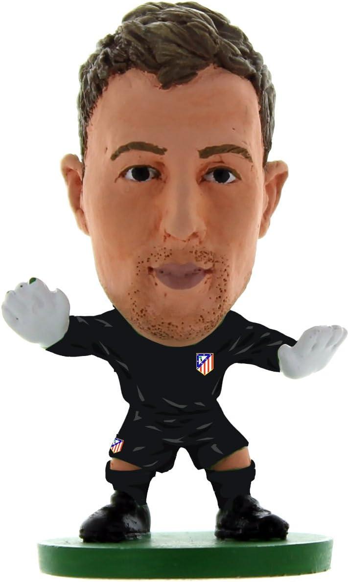 SoccerStarz SOC1058 Atlético Madrid Jan Oblak Home Kit Figuras clásicas