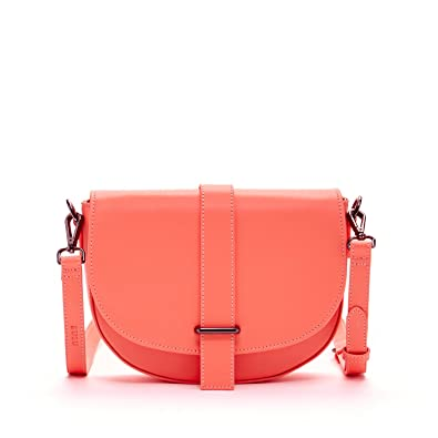 e701d171f7c SUSU The Alexandra Leather Crossbody Saddle Bag