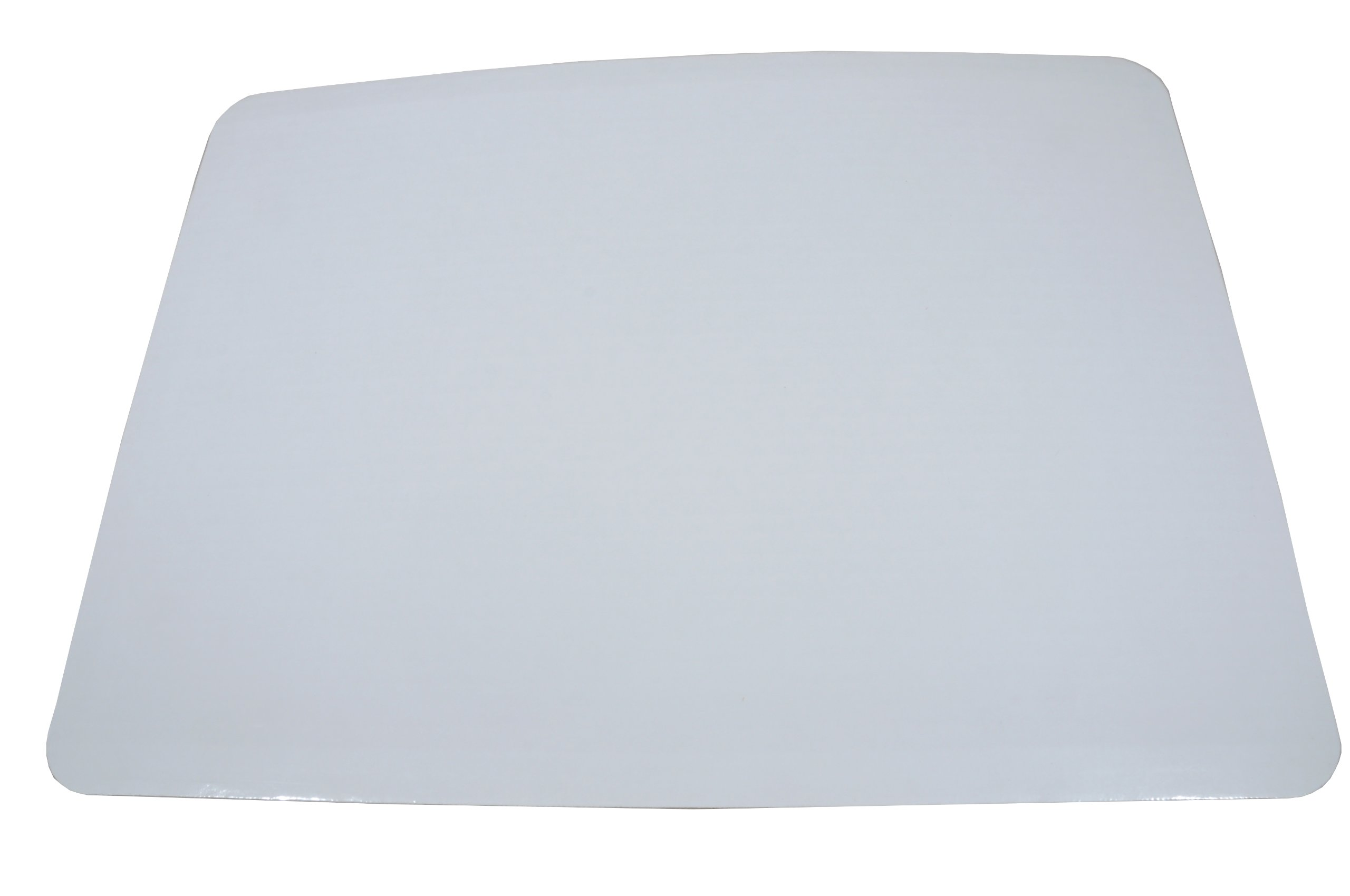 Southern Champion Tray 1153 Corrugated Greaseproof Single Wall Cake Pad, Half Sheet, 19'' L x 14'' W, Bright White (Case of 50)