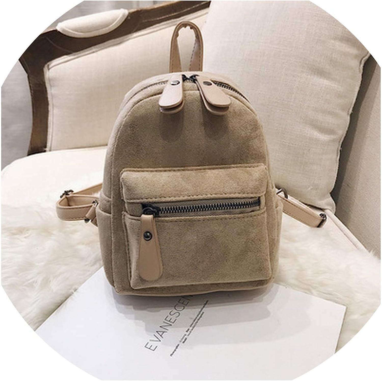 Women Backpack Mini Soft...
