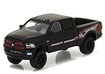 dodge ram 2016. 2016 dodge ram 2500 power wagon pickup truck matt black hobby exclusive 164 by