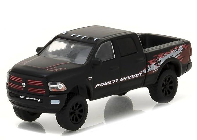 Dodge 2016 Truck >> 2016 Dodge Ram 2500 Power Wagon Pickup Truck Matt Black Hobby Exclusive 1 64 By Greenlight 29901