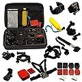 ANART® 30 All-in-1 Professional Accessories Set Bundle Bag for Gopro HD Hero SJCAM SJ4000/5000/6000 Sports Camera