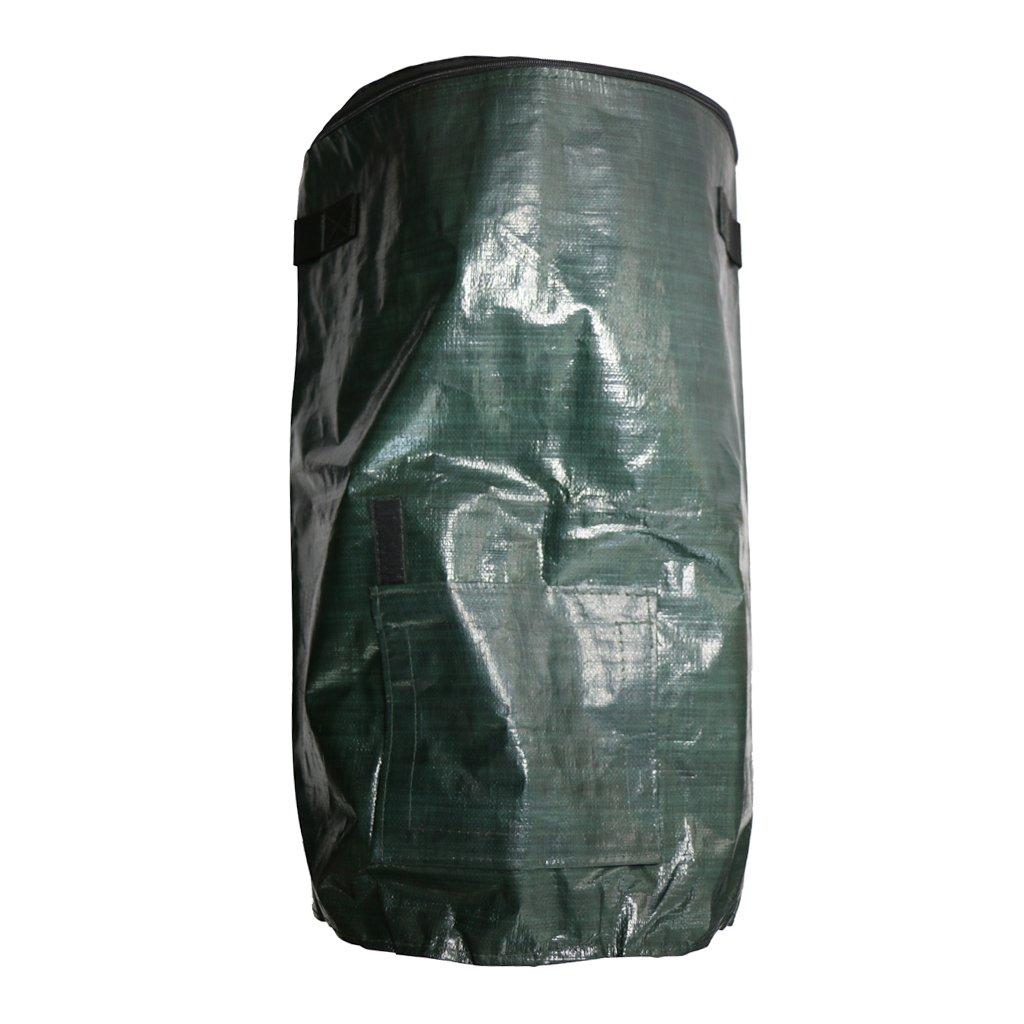 Blesiya 60L Garten Kompost Tasche Mülleimer Umweltfreundlich