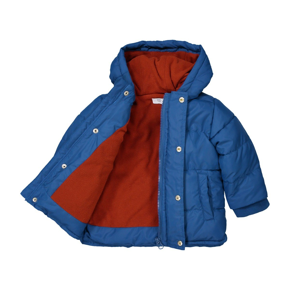 La Redoute Collections Big Boys Hooded Padded Jacket 3 Months-3 Years