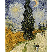 LICSE Van Gogh Kits Paint by Number Wheat Field The Watchman