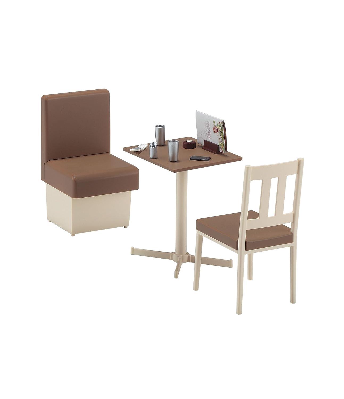 amazon com hasegawa 62007 1 12 family restaurant table chair toys