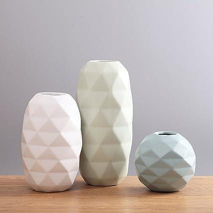 Amazoncom Jiaae Nordic Creative Ceramics Vase Modern Minimalist