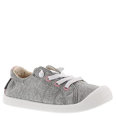 a00d9dc392d22 Roxy TW Bayshore Girls' Infant-Toddler Oxford 8 M US Toddler Light Grey