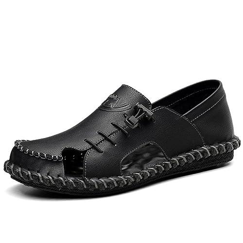 LYZGF Hombres Juventud Verano Desenfadado Baotou Sandalias Moda Transpirable Zapatillas: Amazon.es: Zapatos y complementos