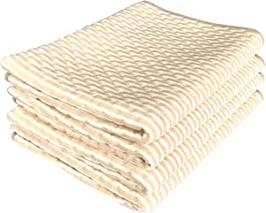 """35""""X71"""" Washable Waterproof Urine Pads Incontinence Bed Diaper Changing Mat Mattress Sheet Protector, Absorbency Hosptial Pee Pads Quilt Underpad Sheet for Baby Adults, Beige"""