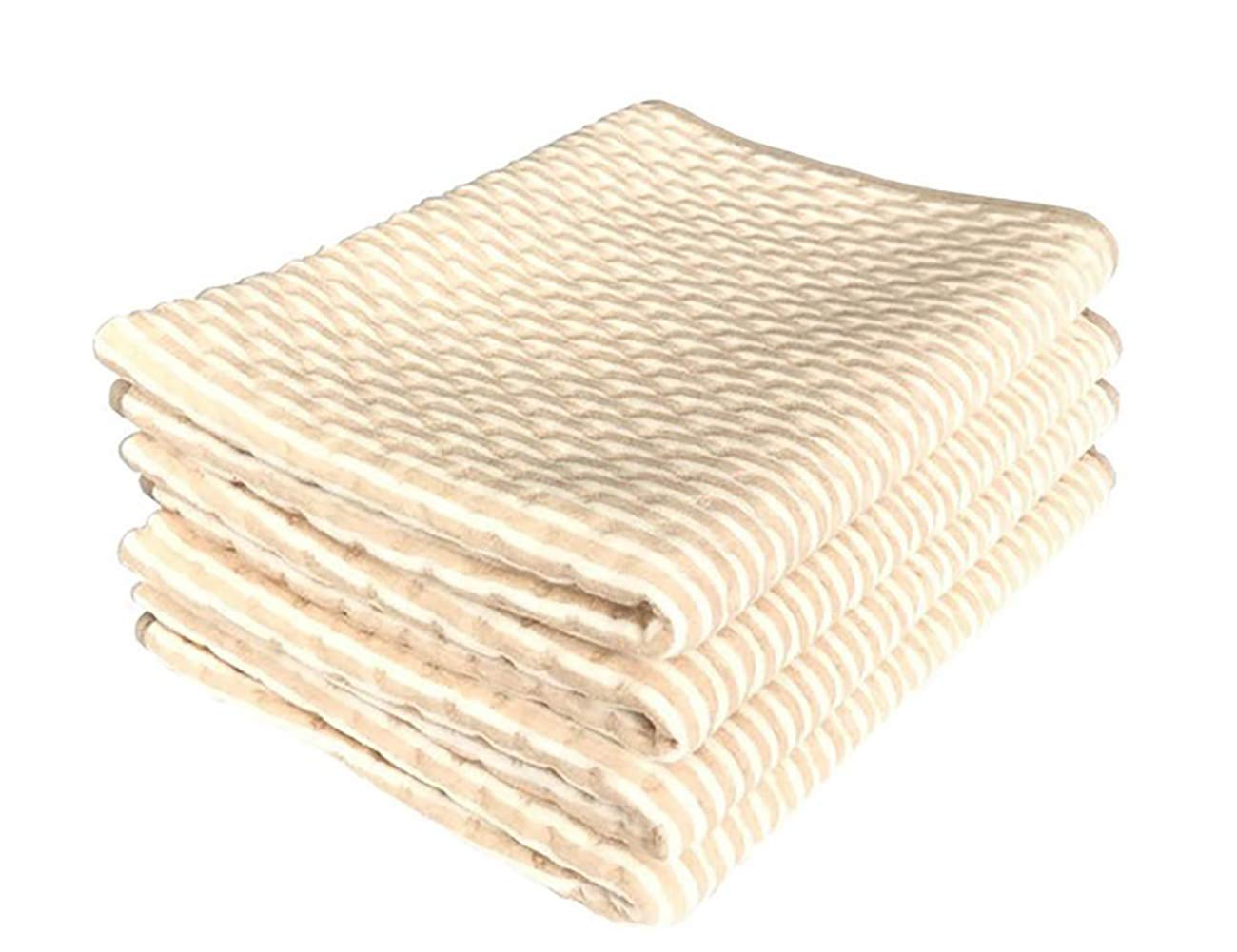 35X59 Washable Waterproof Urine Pads Incontinence Bed Diaper Changing Mat Mattress Sheet Protector Beige Absorbency Hosptial Pee Pads Quilt Underpad Sheet for Baby Adults