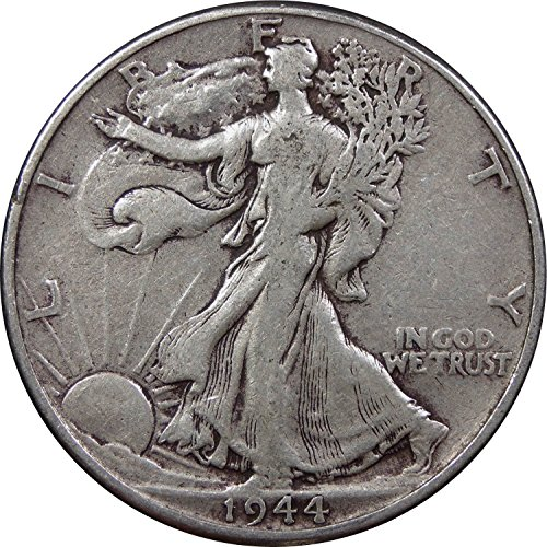 1920-1947 U.S. Walking Liberty Half Dollar Coin, 90% Silver, Circulated ()