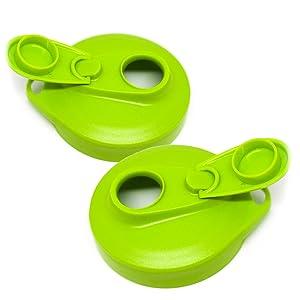 Masontops Multi Top - 2 Pack - Wide Mouth Mason Jar Lids with Easy Pour Spout and Flip Cap – Sip, Pour, Store & More - Lid Accessories For Mason Jars