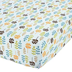 Amazon Com Graco Fitted Crib Sheet In The Forest