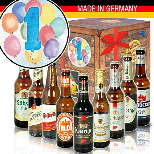 Geschenk 1. Geburtstag – Bierpaket – Ostdeutsches Bier