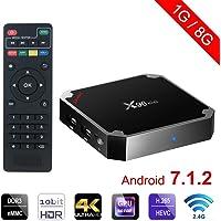 FIESAND X96 Mini Android TV Box 1GB +8GB Android 7.1 4K Smart TV Box 64bit Quad Core CPU