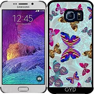 Funda para Samsung Galaxy S6 EDGE (SM-G925) - Fractal Mariposa Paraíso by StevePurnell