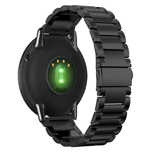 Para Xiaomi Huami Amazfit A1602, DoraMe Pulsera inoxidable correa de banda de reloj inteligente (Negro): Amazon.es: Deportes y aire libre