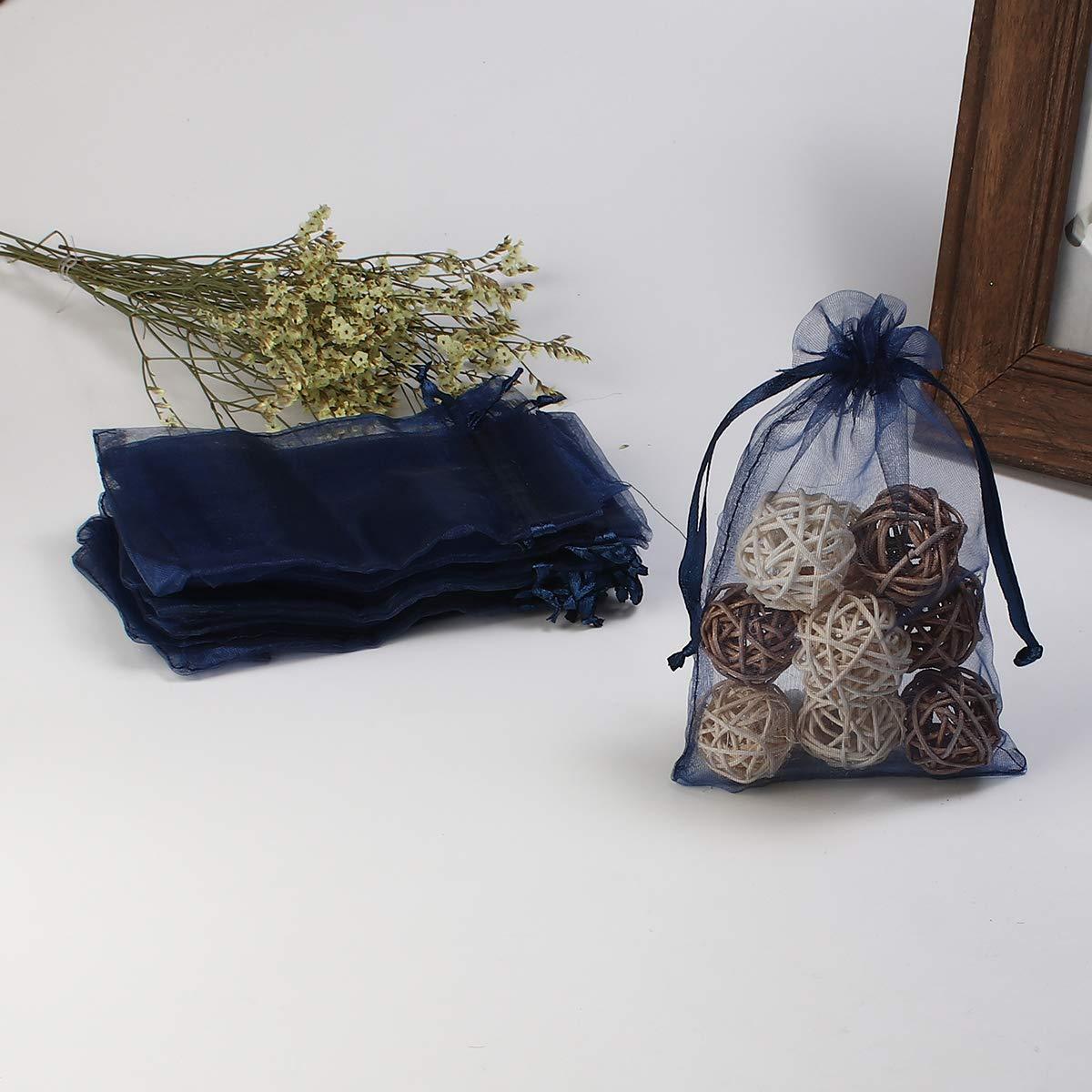 Sadingo Organzabeutel Beige Geschenkbeutel 10 St/ück Organzas/äckchen mit Zugband Geschenks/äckchen Organza 15x10 cm