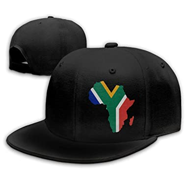 South African Flag Africa Map Men   Women Adjustable Plain Baseball ... d72553e6fd7