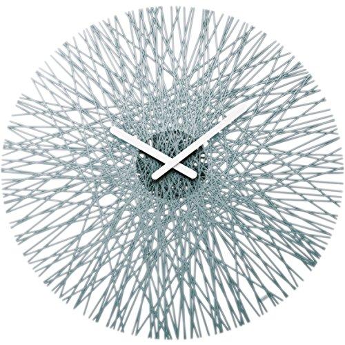 koziol SILK Wall Clock transparent product image