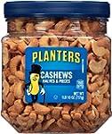 Planters Cashew Halves and Pieces, 1L...