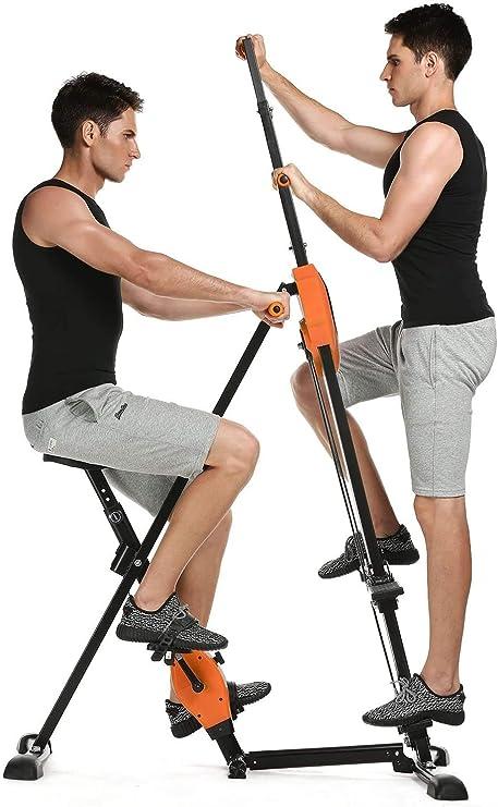 anfan máquina de ejercicio de alpinista escalada Vertical Fitness entrenamiento de Cardio Trainer para gimnasio en casa