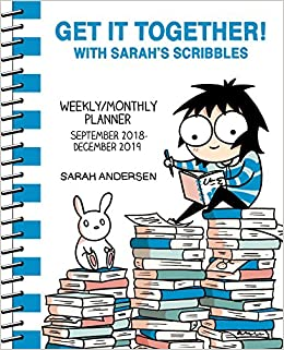 Sarahs Scribbles 2018-2019 16-Month Weekly/Monthly Planner ...