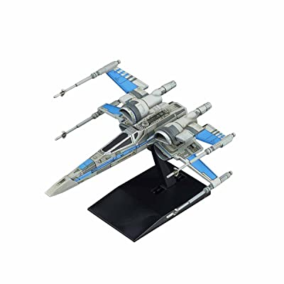 Bandai Star Wars Vehicle Model 011 Blue Squadron Resistacce X-Wing Fighter Model Kit(Japan Import): Toys & Games [5Bkhe0201522]